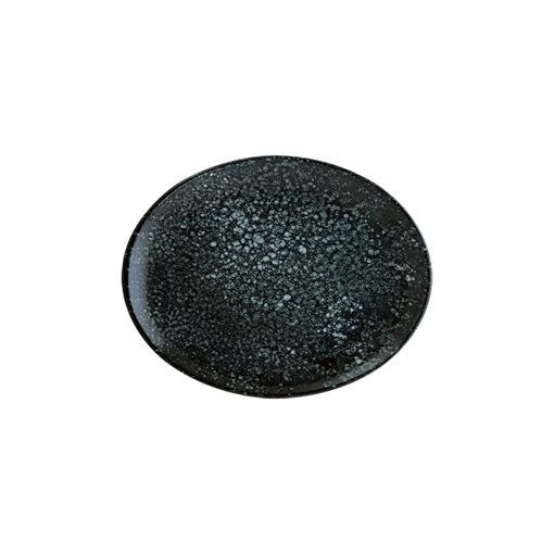 Picture of Bonna Cosmos Black Moove Oval Plate 36*28 cm