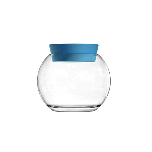 Picture of Zest Storage Bowl Big W/Blue Silicon Cover