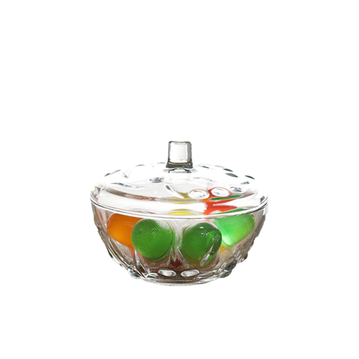 Picture of Pasabahce Perla Sugar Container With Glass Cover